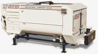 1670 Stationary Industrial Compost Mixer