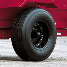 Heavy-Duty Tires and Hubs