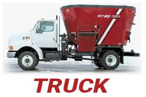 vertical mixers truck