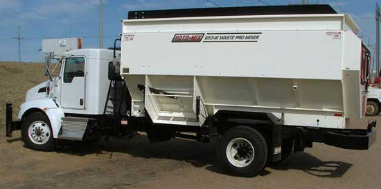 Roto-Mix 653-16 Wate Pro Mixer on Truck