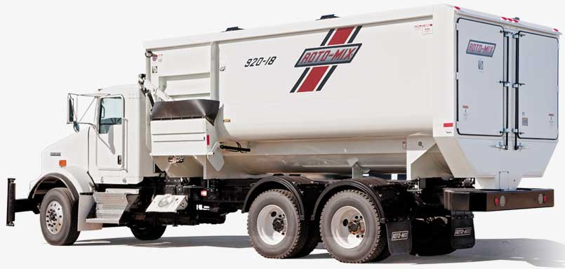 Commercial Series 920-18 Truck Mounted Feed Mixer