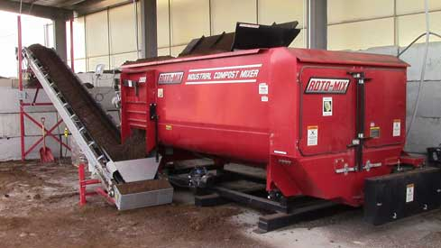 rotary compost stationary