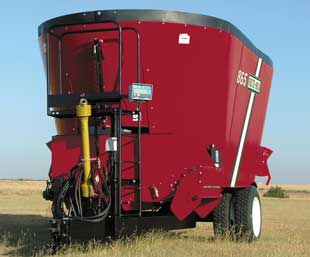 865 Vertical Mixer from Front